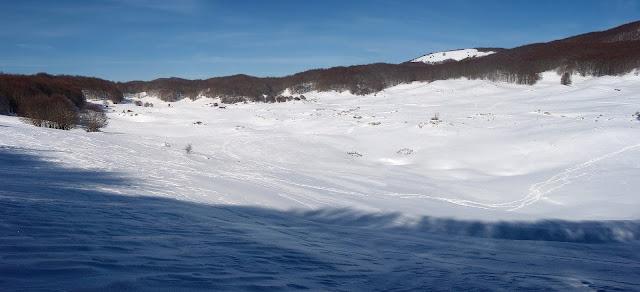 Campaegli, Monti Simbruini, Sci di fondo