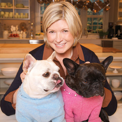 Martha and her frenchies