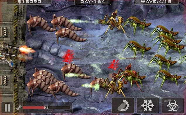 Alien Bugs Defender apk screenshot