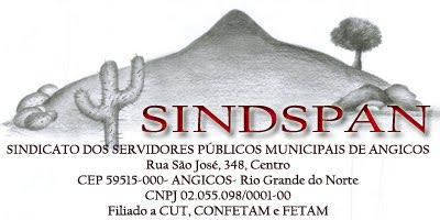 SINDICATO DOS SERVIDORES PÚBLICOS MUNICIPAIS DE ANGICOS - SINDSPAN