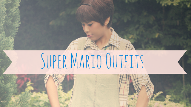 dungaree, fashion blogger, style post, mario outfits, super mario brothers inspired lookbook