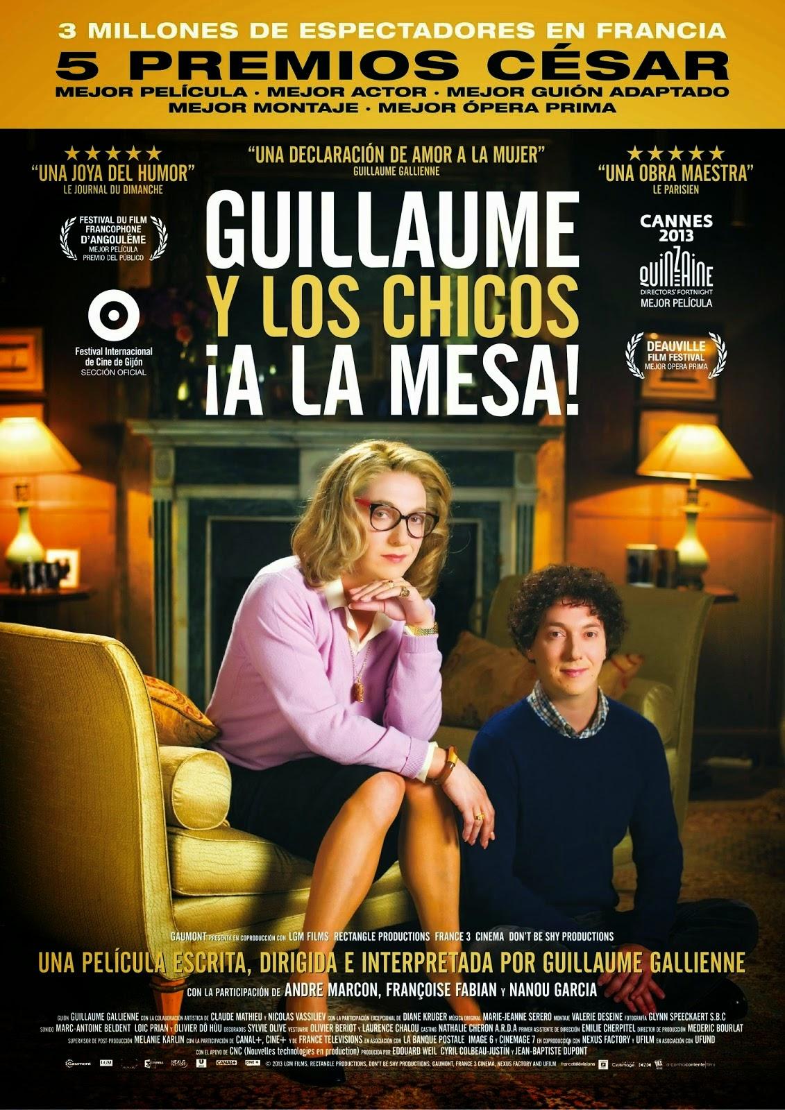 Frases de la película Guillaume y los chicos, ¡a la mesa!