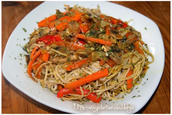 Fideos soba cocinar en casa es for Cocinar wok en casa