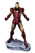 The Avengers Movie ARTFX Iron Man Mark VII 091980