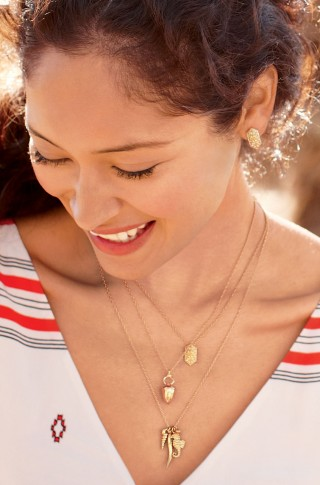 The Sunset Beach Charm Necklace