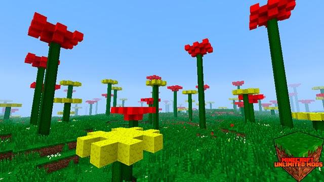 Biomes O' Plenty Mod Minecraft Flores