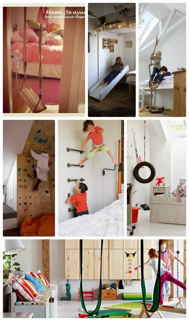 Mami te ayudo dormitorio cuarto de juegos gimnasio - Decoracion de gimnasios ...