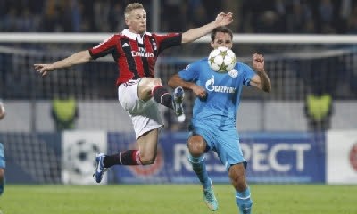 Zenit-Milan 2-3 highlights