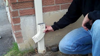 Mandatory downspout disconnection toronto GTA