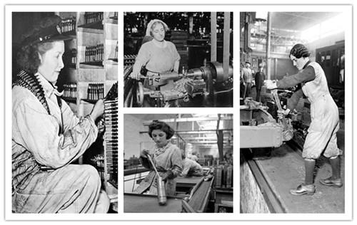 Les femmes et la grande guerre for Femme au foyer 1960