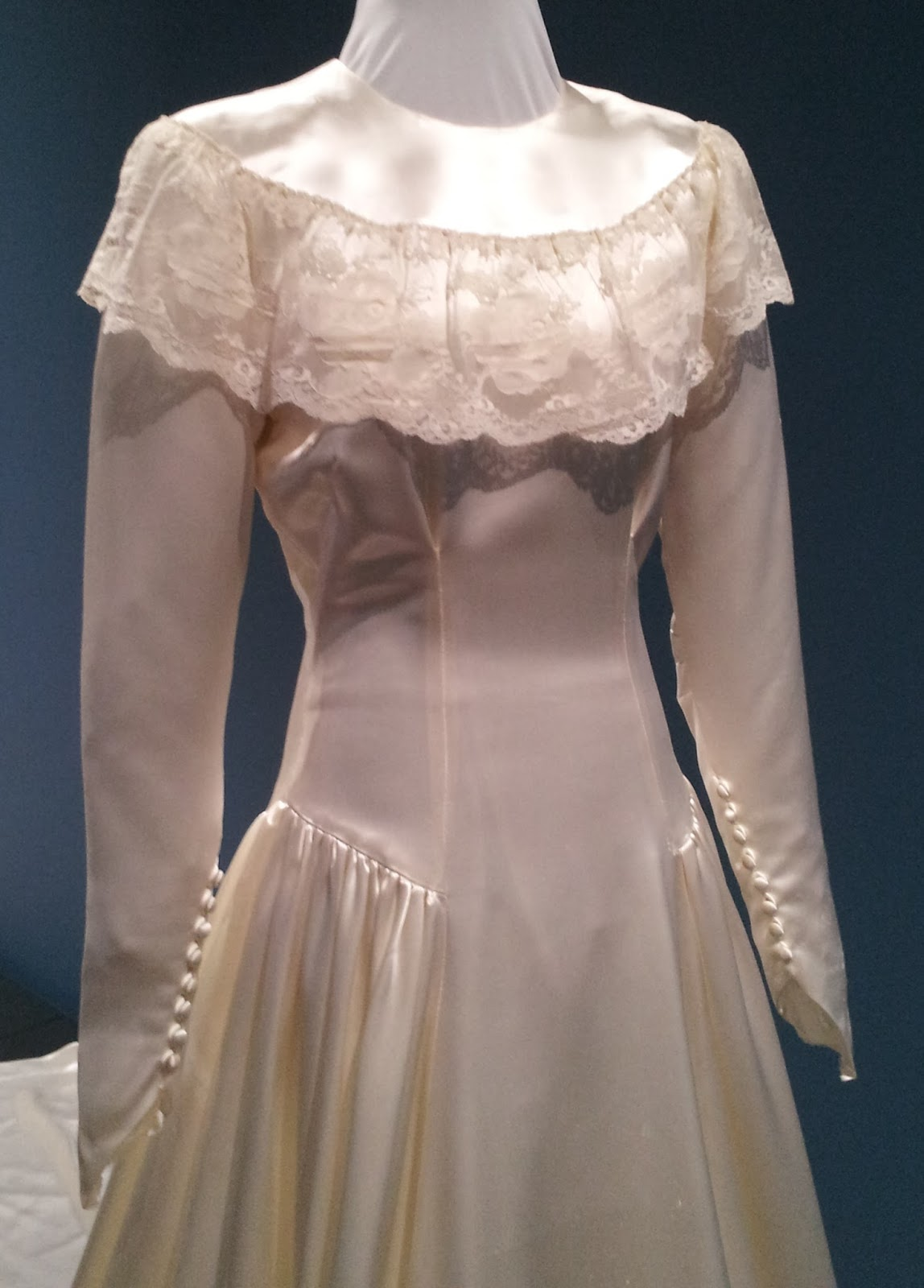 vintage wedding dresses 1800s vintage bridal gowns on view