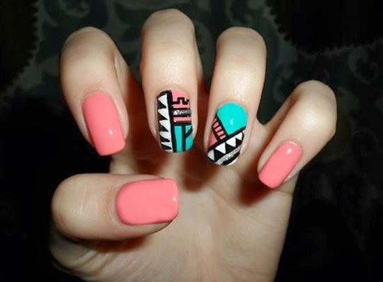 Nail Art Design Trendy Tribal Ideas