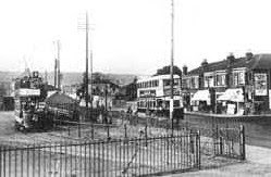 The old tram terminus in Cosham