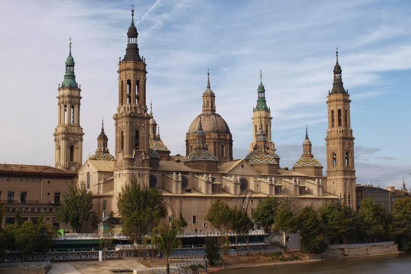 Catedral del Pilar en Zaragoza