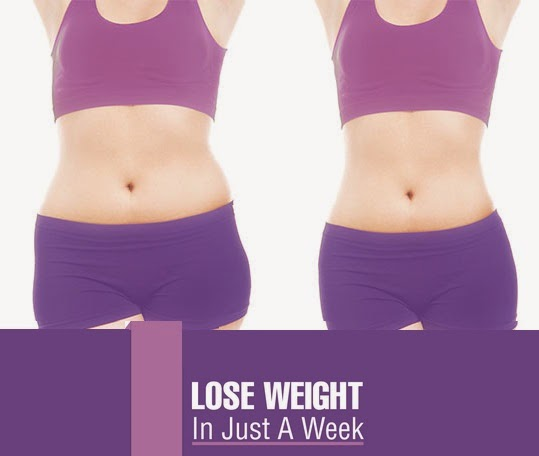 lose weight in 1 weeks