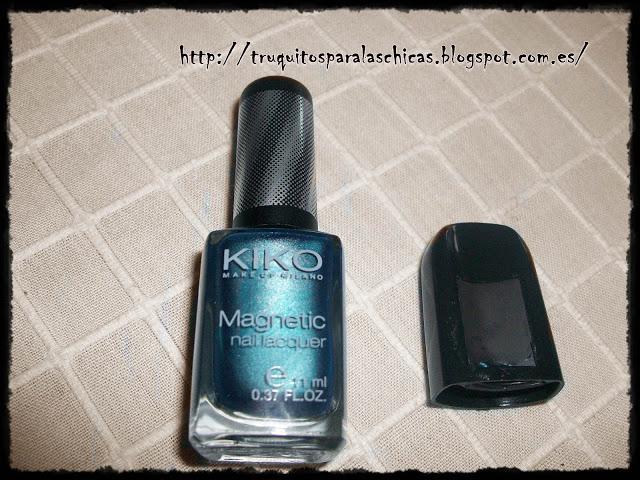 esmalte magnetico kiko makeup