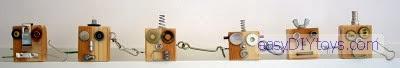DIY Robot Key Rings 2