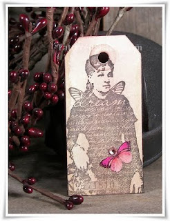 Dream Primitive Hangtag Magnet