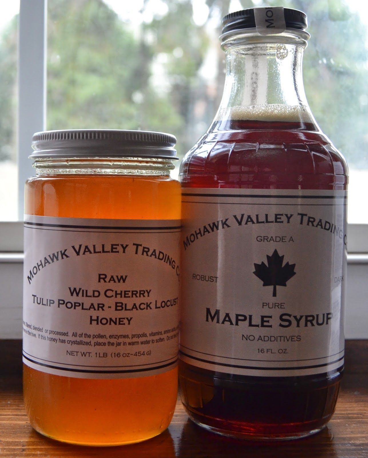 Mohawk Valley Trading Co. Honey and Maple Syrup