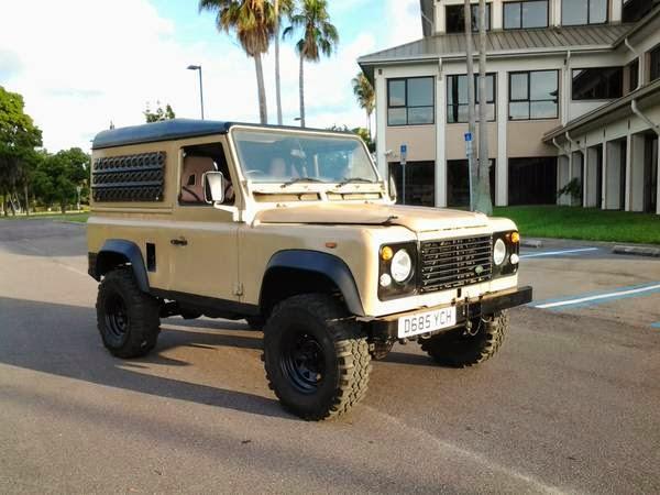 for sale 1986 land rover defender 90 4x4 cars. Black Bedroom Furniture Sets. Home Design Ideas