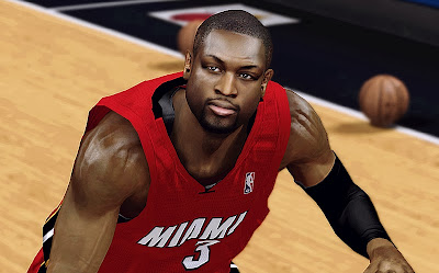 2k realistic wade face patch