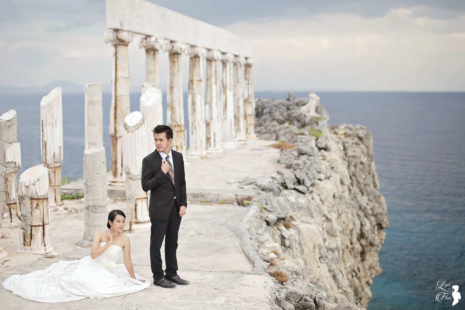 Fortune Island Batangas Pre Wedding Jez And Pinky Lights And Flair