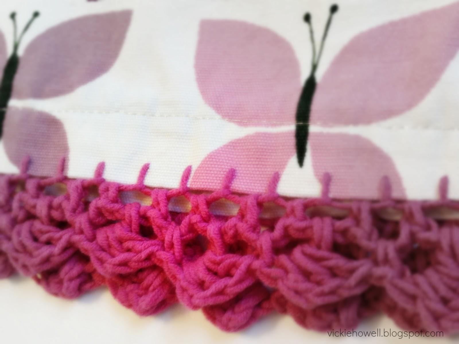 New Free Pattern: Easy Crochet Skirt Edging - Vickie Howell