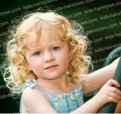 rambut keriting panjang medium untuk anak perempuan 201658