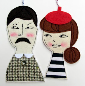 Whimsical Hanging Folk