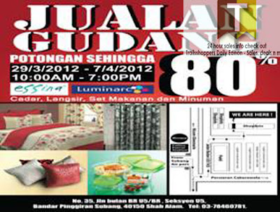 Luminarc Kenje Warehouse Sale