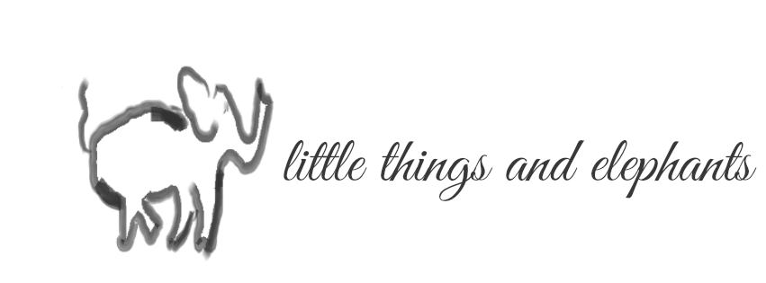little things and elephants