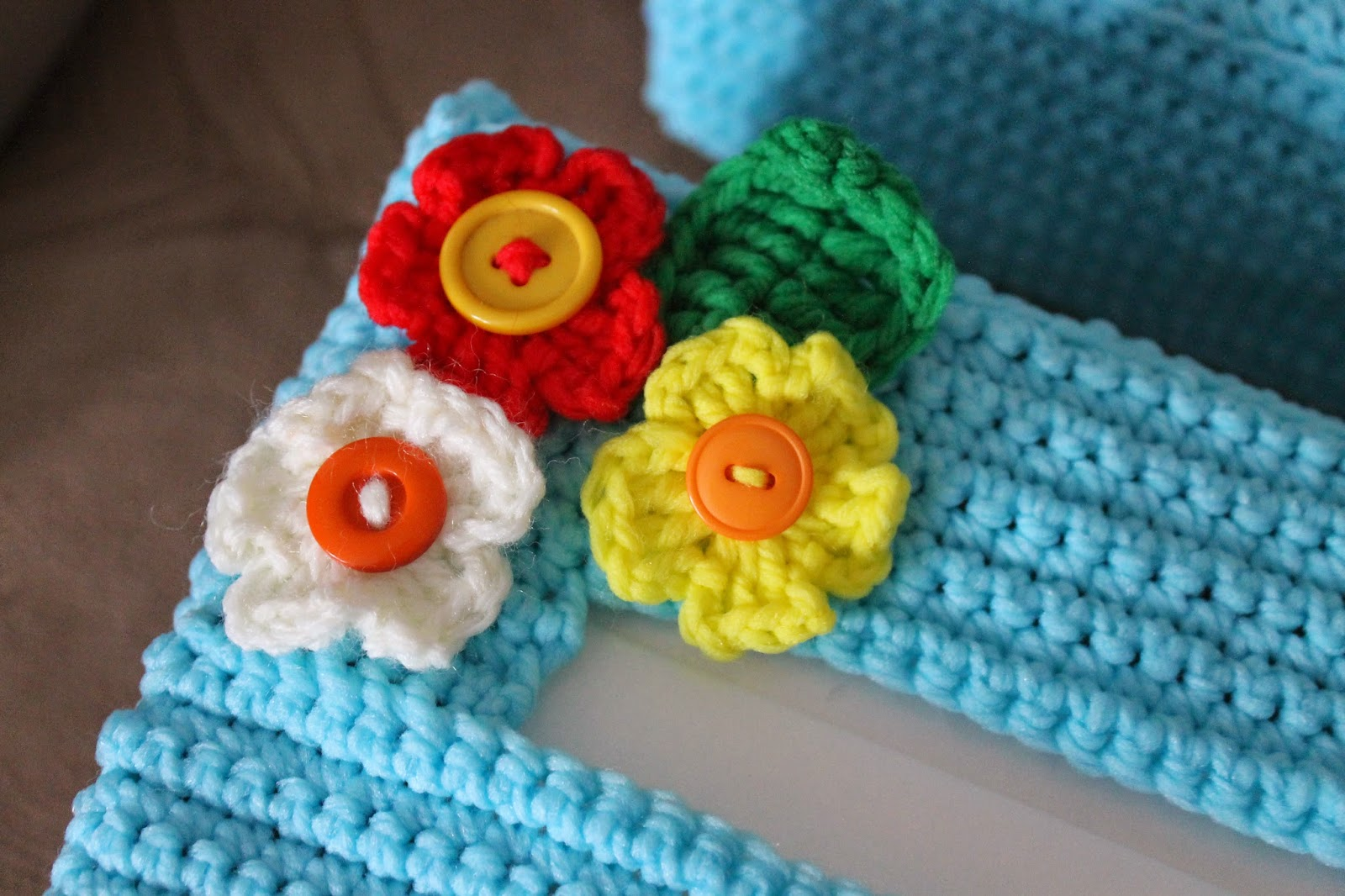 Forget-Me-Not: My Tissue Box Cover Pattern