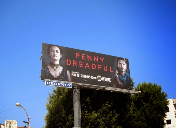 Penny Dreadful series premiere billboard