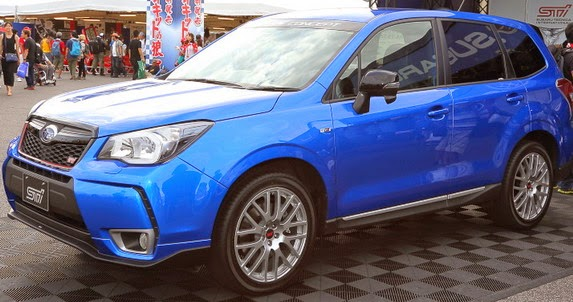 Subaru Forester STI Releases Teaser, Fast SUV from Japan