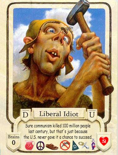 liberal morons