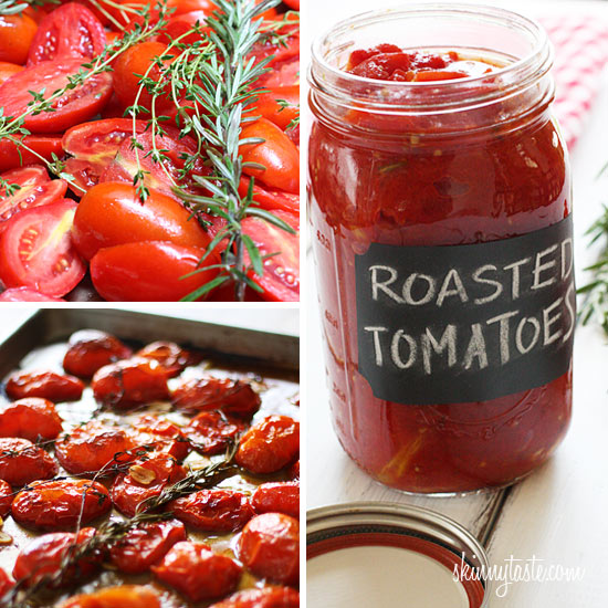 Oven Roasted Tomatoes Recipe — Dishmaps