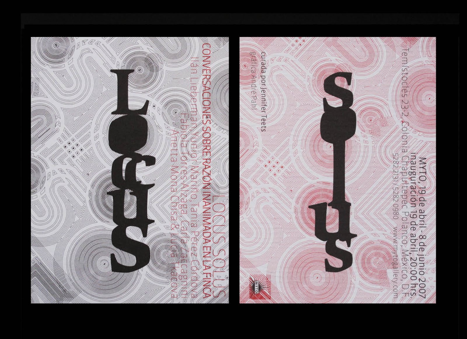 Locus Solus, 2007