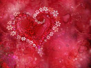 corazones de flores para imprimir