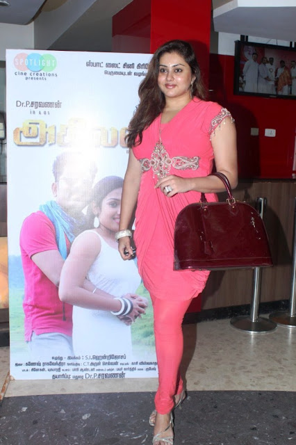 Namitha pink churidar photos