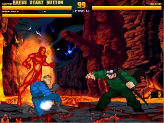Superheroes 2000 Mugen v4 4 Fantasticos vs Moleman