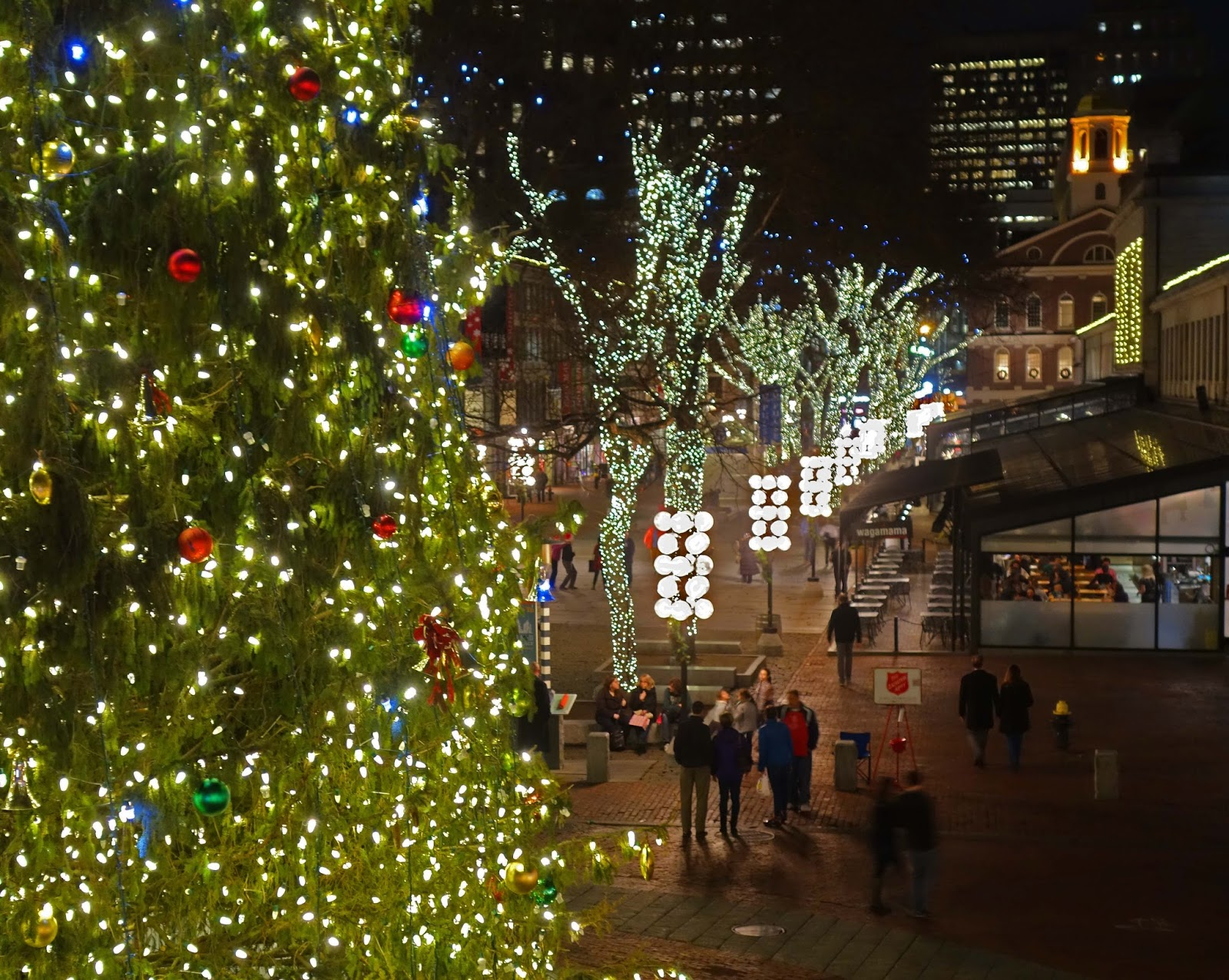 faneuil hall christmas tree lighting. Boston\u0027s Market District Includes The Quincy - Faneuil Hall Marketplace, Haymarket Pushcarts, And Boston Public Market. Christmas Tree Lighting R