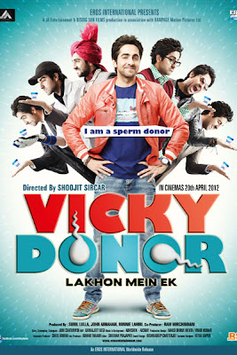 Vicky Donor 2012 Movie Poster