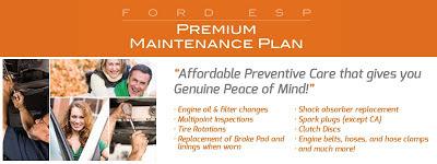 Free Ford Premium Maintenance Plan Offer