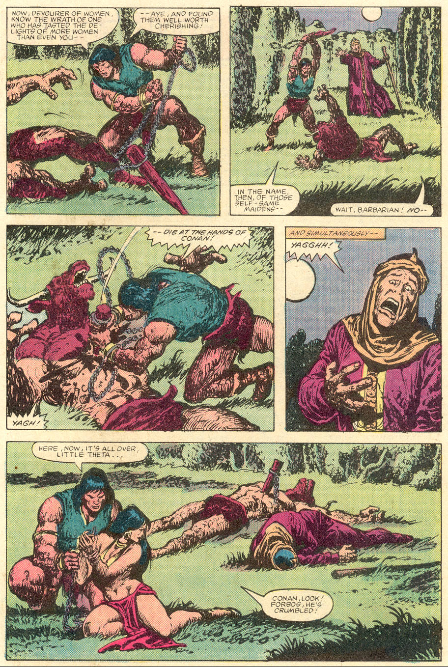 Conan the Barbarian (1970) Issue #142 #154 - English 22