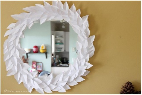 interesting hanging a mirror with a diy mirror frame diy wood mirror build a with build a mirror frame