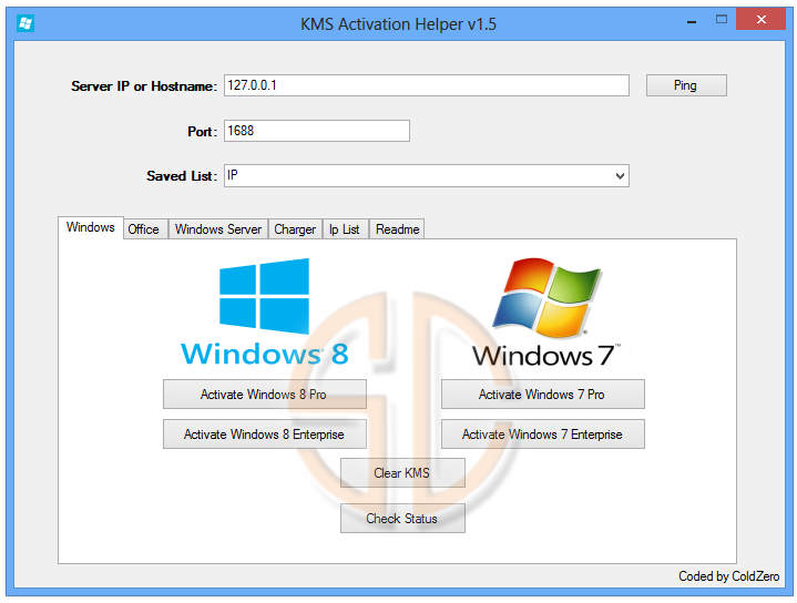 Windows 8 pro kms activator.exe