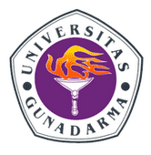 Logo of Gunadarma University