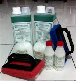 Paket Mutiara Cleaner Tapas  Tebal Bertangkai Rp 163.000,-/ Paket  serba satu