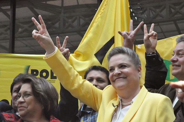 Clara López: Facing an uphill battle to become not only Colombia's first woman president, but also its first leftist head of state.