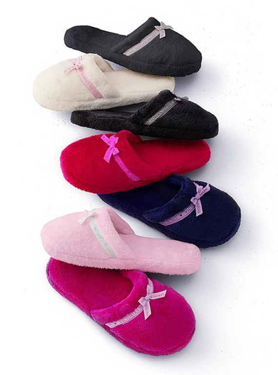 Ladies Slip On House Shoes